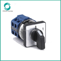 TUV approved IP65 high quality LW26 series 10A-160A electric motor reversing switch