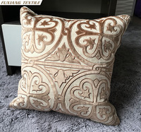 New Design Machine Embroidery Designs Cushion Pillow Cover