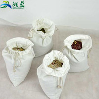 Customized eco-friendly cheapest eco-friendly cotton drawstring bags for packing rice