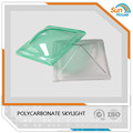 maximum size 3m x 3m large polycarbonate roofing skylight