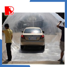 flood proof pe tarpaulin clear plastic car bag cover made in china flood proof car bag