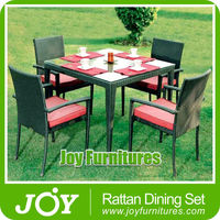 Cane Dining Table 2015 Patio Furniture/ Rattan Outdoor Furniture