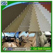 Classic Lichee Pattern Good Quality PVC Leather Car Seat Covers