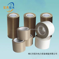 factory directly high quality fiberglass non stick PTFE Adhesive tape