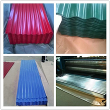 Zinc / Aluzinc / color coated corrugated roofing sheets price per sheet
