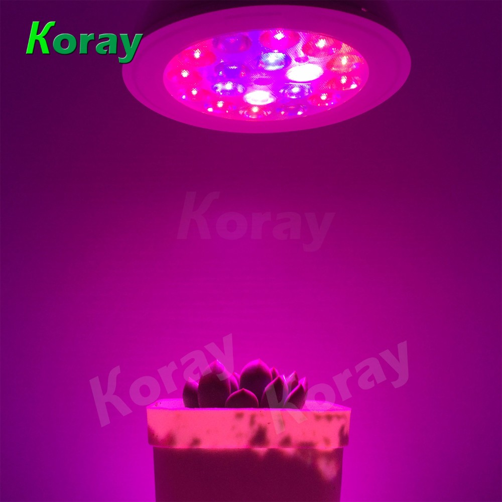 15W New Product Full Spectrum Ce Rohs e27 Bulb Led Grow Light For Greenhouse Parlight Led Grow Light