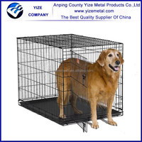Large Welded Mesh Strong Dog Kennel/Large Outdoor Welded Wire Dog Kennels
