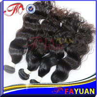 Beautiful woman 100% human unprocessed human hair extension wig
