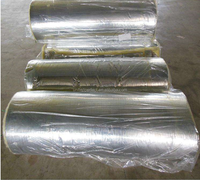 Cheap glass wool felt with aluminium foil heat insulation construction material