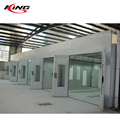 bus and industrial integrated paint booth