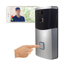 Funny High-End Smart Outdoor Video Door Bell Wireless Intercom Intelligent Speaker Doorbell For Apartments