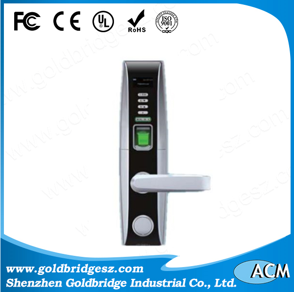 Intelligent RFID Fingerprint Door Lock With OLED Display and USB Interface