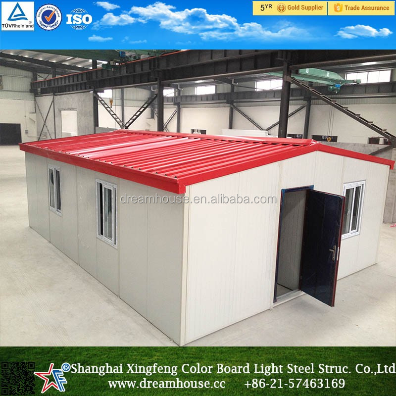 China low cost export house/fast house building/cheap prefab house