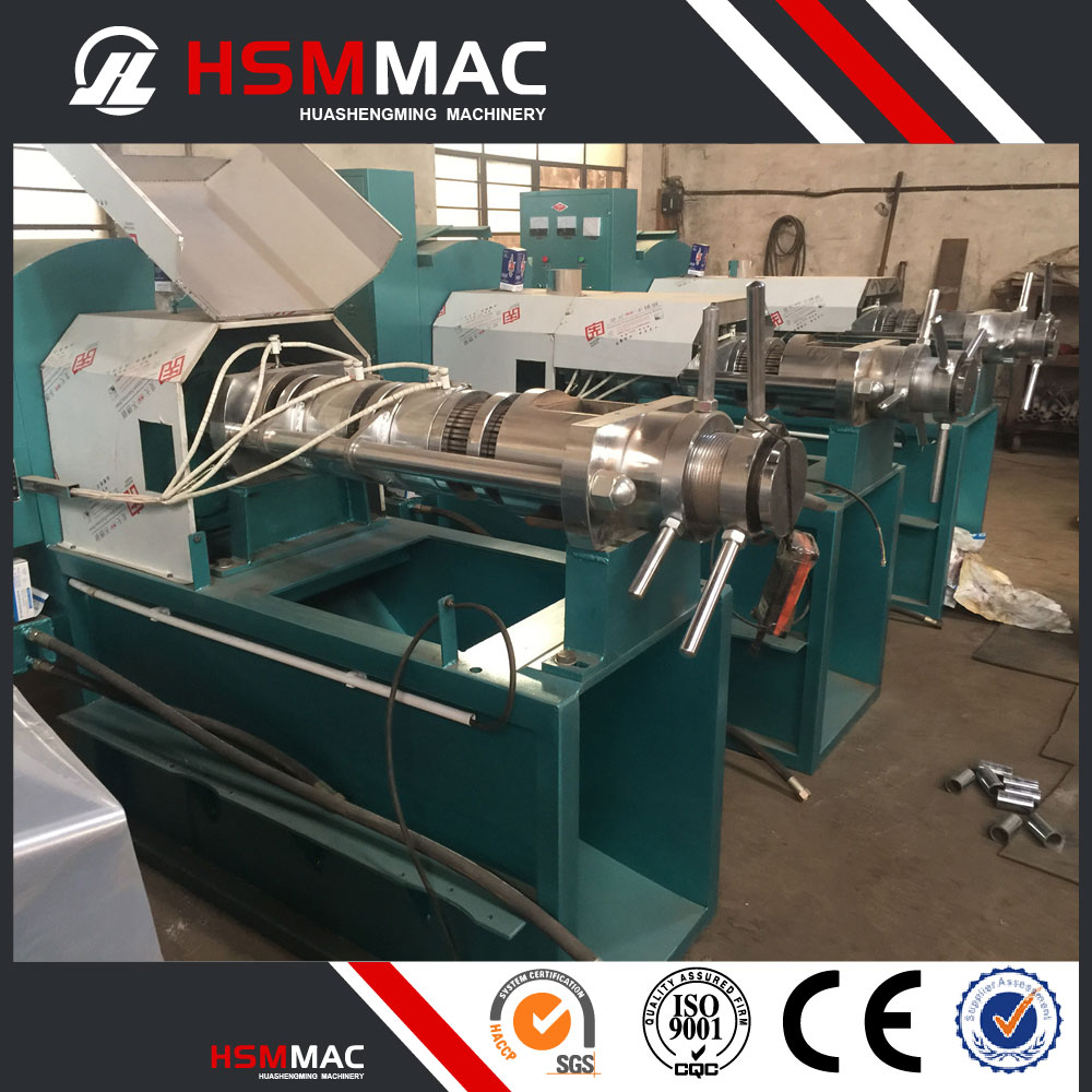HSM Screw Coconut Stainless Steel Cold Oil Press Machine