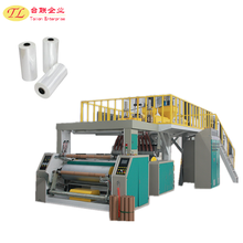 TL cheap and good qulity automatic plastic stretch film extrusion machine