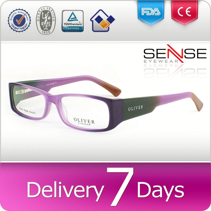 popular eyewear 3d vedio glasses gold spectacle frames