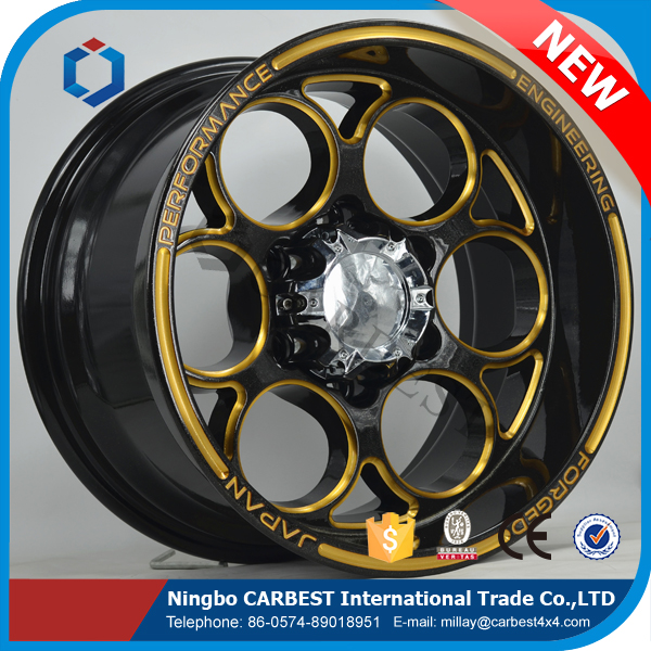 High Quality W6005 New Aluminum Alloy Wheel for 4x4 Car