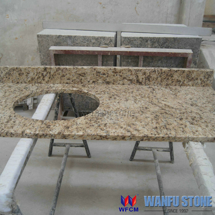 Granite Countertops Wholesale : Wholesale Classical Polished Granite Kitchen Countertop Prefab Houses ...