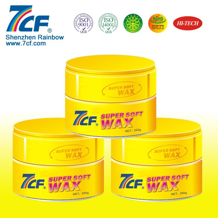 Soft Silicone Crystal Car Wax