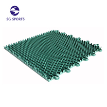 ITF certificate high qualiity outdoor portable tennis court sports flooring material