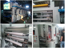 BOPP/CPP/PVC/PET/PE Film Gravure Printing Machine