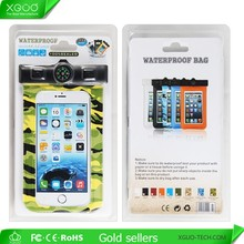 New design waterproof mobile phone pouch