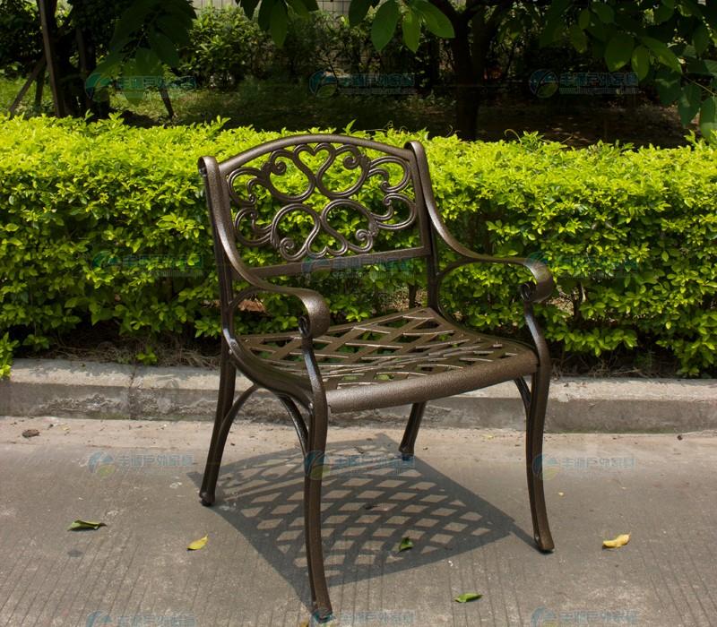 Stone Round Table Top Cast Aluminum Rust Resistant Garden
