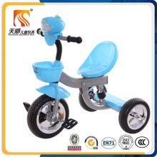 Blue color kids trike ride on toy three wheels baby tricycle for child tricycle China