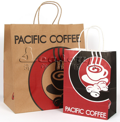OEM thick paper shopping bag for clothing