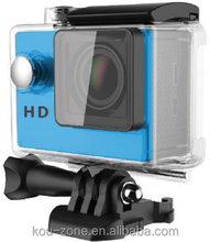 "Extreme HD 720P Mini Sports DV Action Camera 2.0"" LCD 120 Degree Wide Angle Lens 30M Waterproof Sport Camera Video"