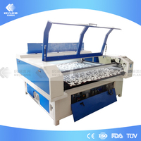 Keyland 9060 Laser Cutting Machine for Fabric Logos/Text