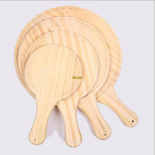 Customized wooden Bread tray/ wooden pizza tray for shop
