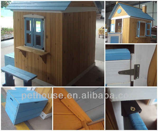 Wooden Outdoor Playhouse