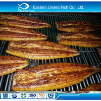 Frozen unagi kabayaki headless back cut Roasted eel