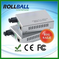 Nice price optical fiber d link media converter