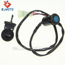 ZJMOTO Motorcycle Ignition Key Switch ATV Ignition Switch Fit For 300 EX TRX300EX TRX 300 EX 2007 2008 2009 ATV NEW