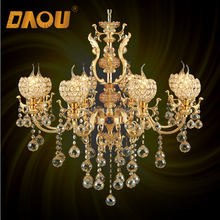 China Supplier Wedding Decoration Chandelier french multi colored glass oval chandelier