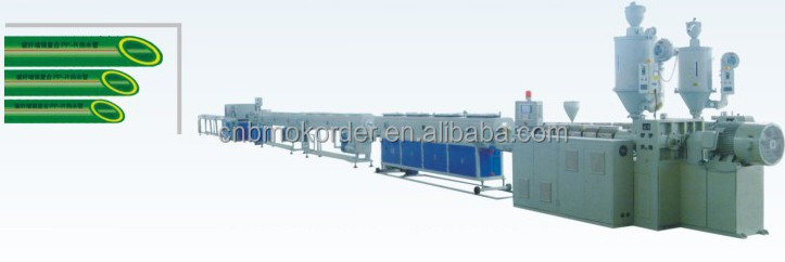 PPR Nano-antibacterial Glass Fiber Reinforced Steady State Composite Pipe Extrusion Line