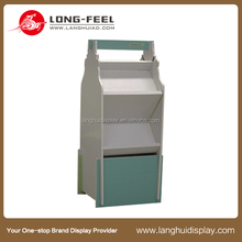 Environmentally Friendly supermarket refrigerated cardboard display case