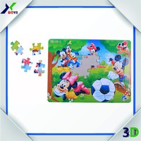 3D jigsaw paper puzzles 10000 for children game
