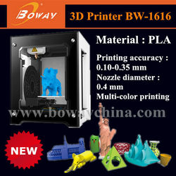 Boway BW-1616 one button printing PLA 3d printer supplies