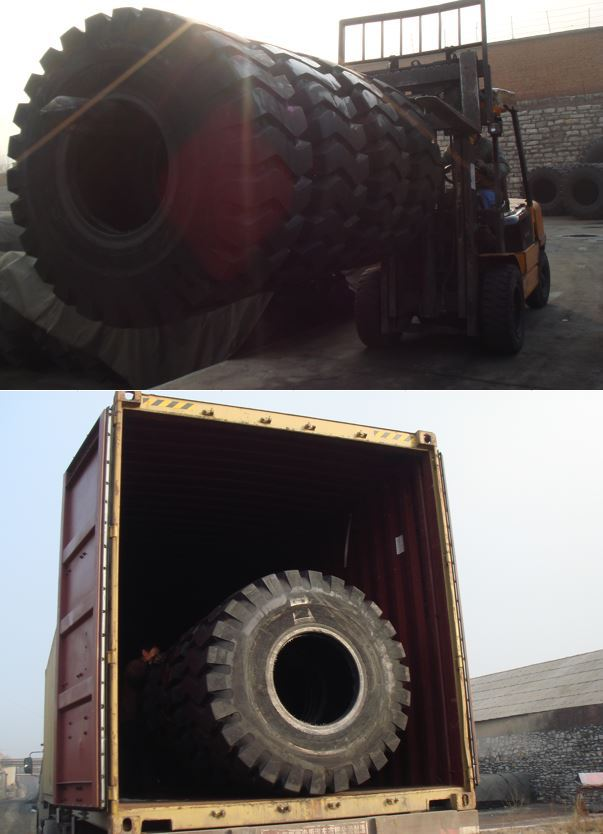 Chinese New Tire 20.5-25 loader tires Off Road Tire