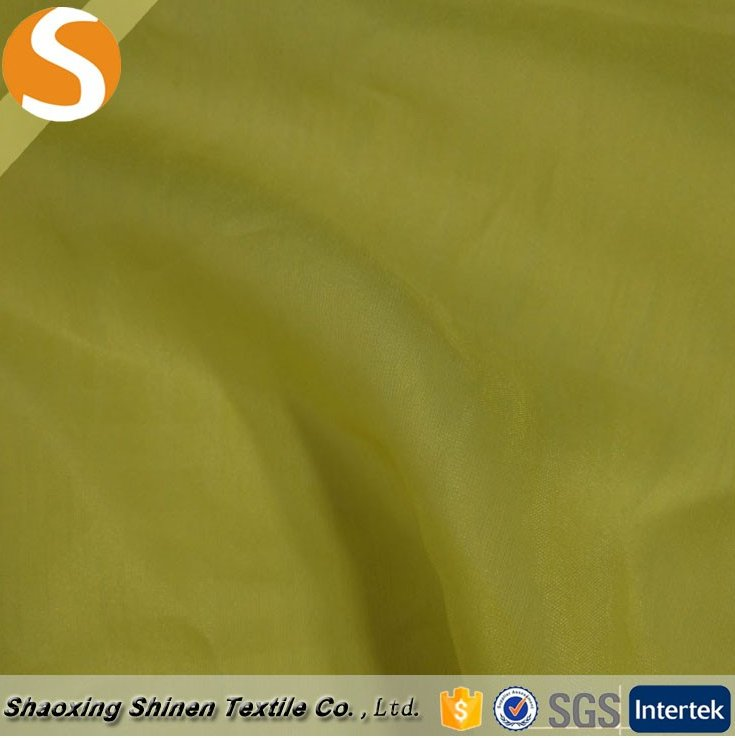 Good sell Cotton silk crepe chiffon satin woven fabric for low price