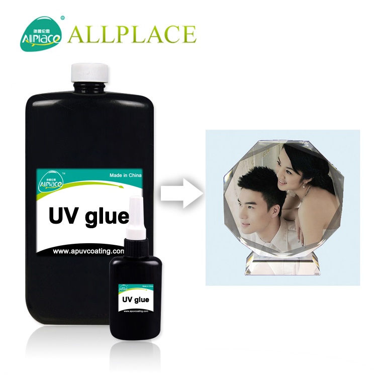 Manufacturer Adhesive Loxeal UV Glue for Photo Paper to Glass