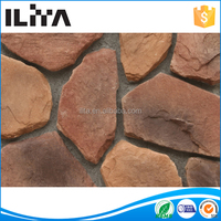 Porcelain Tiles, Stone Look Exterior Wall Tile, Waterproof Building Materials (YLD-73013)