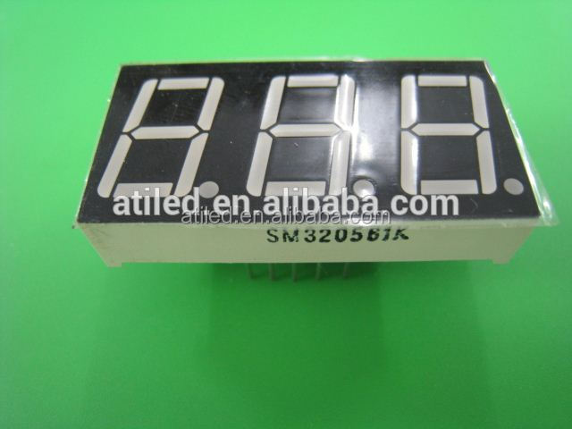 white color 7 segment led display,led display module for home appliance display board
