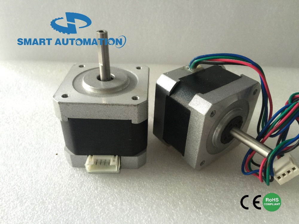 Reprap 3D Printer Nema 17 stepper motor, nema 17 3D Printer stepping motors , crimped with different type connectors