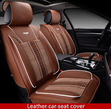 New design pvc leather material custom car seat cover for Peugeot 308SW