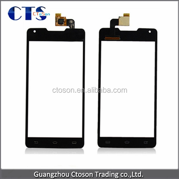 Wholesale Mobile Phone Spare Parts Touch Glass Digitizer Screen Replacement For philips xenium w6610 front glass with digitizer
