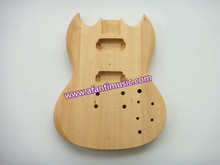 Sg Guitar Body / Basswood Body / Afanti Sg Electric Guitar Body (ASG-210K)